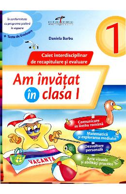 Am Invatat In Cls 1 Caiet - Daniela Barbu