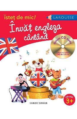 Invat Engleza Cantand + Cd Audio