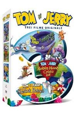 3DVD Tom Si Jerry - Trei Filme Originale
