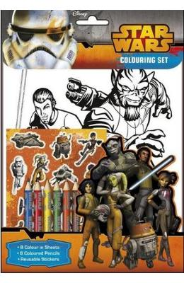Star Wars Rebels Set de colorat