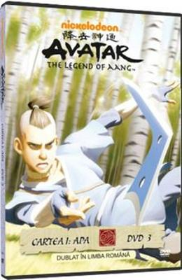 DVD Avatar: The Legend Of Aang - Cartea 1: Apa Dvd 3 - Dublat In Limba Romana