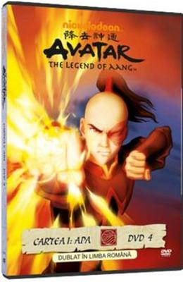 DVD Avatar: The Legend Of Aang - Cartea 1: Apa Dvd 4 - Dublat In Limba Romana