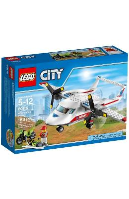 Lego City Avion Sanitar 5-12 Ani (60116)