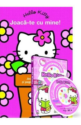 Hello Kitty. Joaca-te cu mine! + DVD Descurcareata Kitty