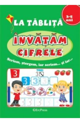 La tablita: Invatam cifrele 3-5 ani