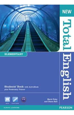 New Total English Elementary Students' Book with Active Book