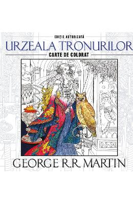 Urzeala tronurilor - George R.R. Martin - Carte de colorat imagine