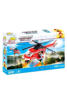 Action Town. Fire helicopter. Pompieri - Elicopter
