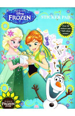 Frozen Fever  Sticker Pad. Set De Stickere