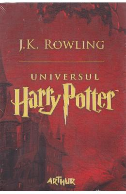 Universul Harry Potter Vol.1+2+3 - J.K. Rowling