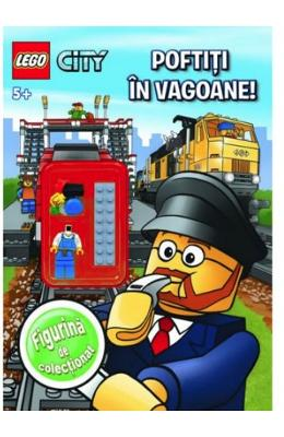 Lego City - Poftiti in vagoane! 5+
