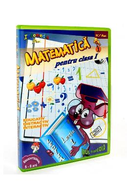 CD-ROM Piticlic senior - Matematica cls 1 partea I - 5-8 Ani