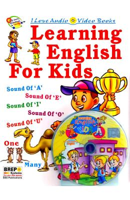 Learning English for Kids + Cd - Sanjeev Bhasin