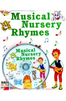 Musical Nursery Rhymes + CD - Sanjeev Bhasin