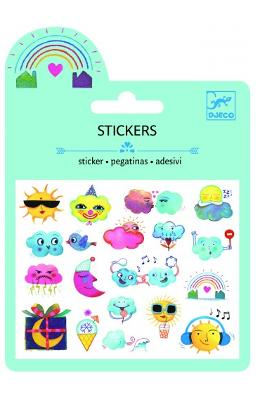 Stickers. Abtibilduri Mici Decorative  Vremea