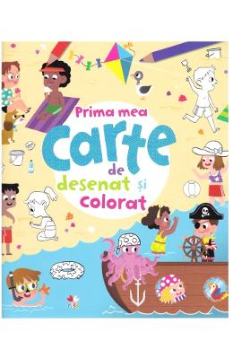 Prima mea carte de desenat si colorat