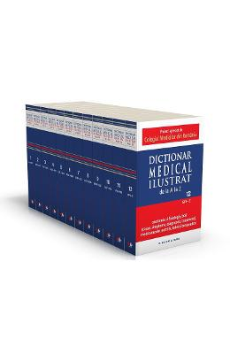 Dictionar Medical ilustrat 12 volume