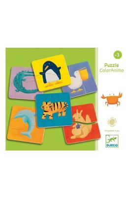 Puzzle ColorAnimo. Animale