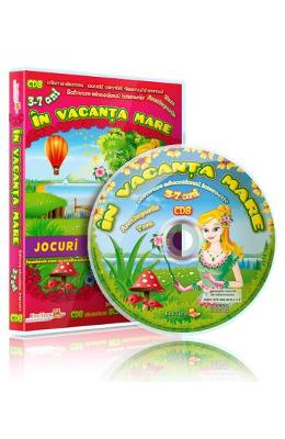 CD In vacanta mare - Jocuri educationale