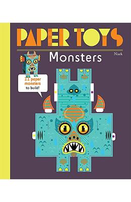 Paper Toys: Monstres