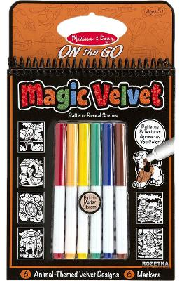 Magic Velvet. Carnet de colorat, Catifeaua magica. Animale