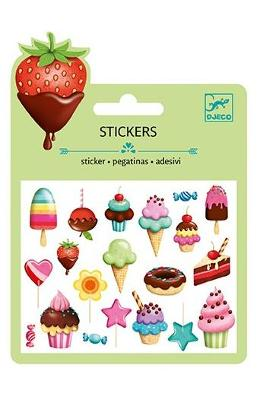 Stickers. Abtibilduri Mici Decorative  Dulciuri